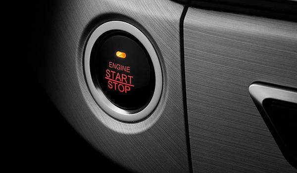 Smart key con botón de arranque